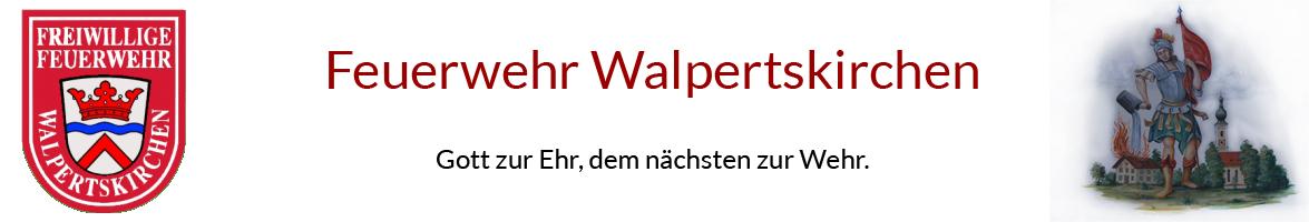 Freiwillige Feuerwehr Walpertskirchen